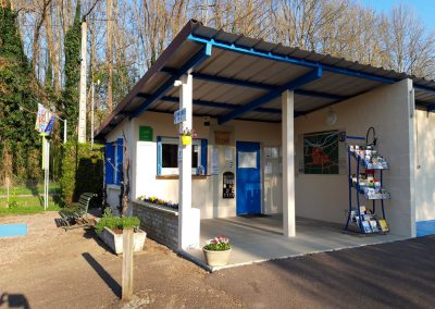 Acceuil du camping